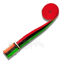 Green, Black, and Red Belt