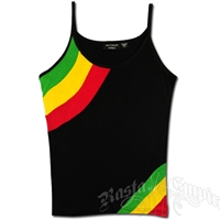 Rasta and Reggae Striped Tank Top