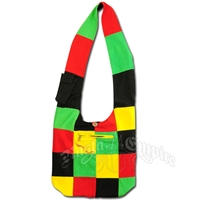 Rasta & Reggae Patchwork Shoulder Bag