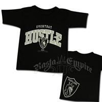 Everyday Hustle Black T-Shirt - Toddler's