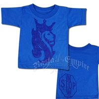 Lion of Judah Blue T-Shirt - Toddler's