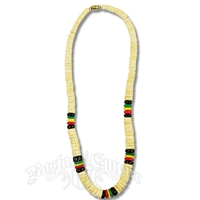 Coco Beaded Necklace - White