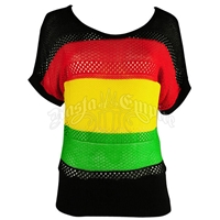 Rasta and Reggae Knit Top