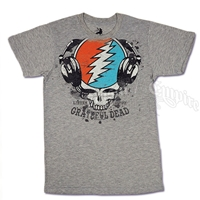 Grateful Dead Listen Heather Grey T-Shirt - Men's