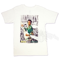 Jimi Hendrix Newport White T-Shirt - Men's