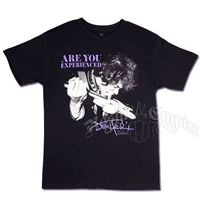 Jimi Hendrix Tongue Black T-Shirt - Men's
