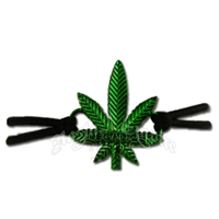 Legalize Marijuana Stretch Cord Bracelet
