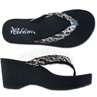 Cobian Zoe Multi Wedge Sandals - Women's