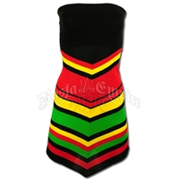 Rasta and Reggae Multi Stripe Dress