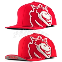 Lion of Judah Red & White Flip Cap