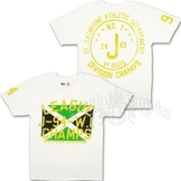 Jamaica League Champs White T-Shirt - Men's