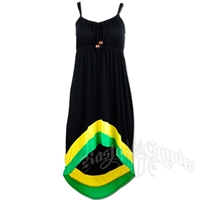 Jamaican High/Low Dress
