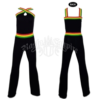 Rasta and Reggae Long Jumpsuit