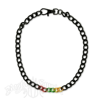 Rasta Chain Necklace