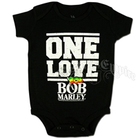 Bob Marley One Love Flag Creeper - Black