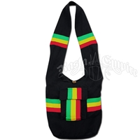 Rasta & Reggae Wide Strap Shoulder Bag