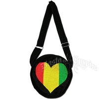 Rasta Heart Purse