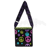 Peace Love Square Purse