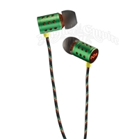 House of Marley Midnight Ravers Rasta In-Ear Headphones