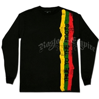 True to the Roots Black Long Sleeve T-Shirt - Men's