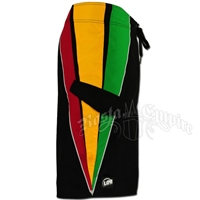 Rasta Triangle Boardshorts - Men's