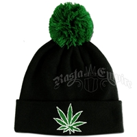 Chronic Black Cuffed Beanie