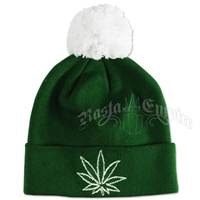 Chronic Green Cuffed Beanie