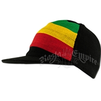 Rasta and Reggae Stripe Ball Cap