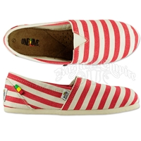 Bob Marley Rita Stripe Red - Women's
