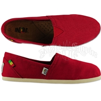Bob Marley Rita Canvas Red - Women's