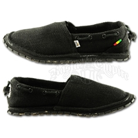 Bob Marley Kingston Hemp Black Shoe - Men's
