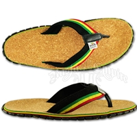 Bob Marley Cork/Hemp Blackl Sandals – Men's