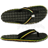 Bob Marley Rios Black Sandals - Men's