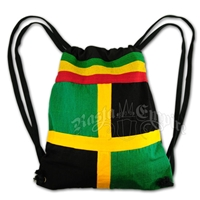 Rasta and Reggae Square Duffel Sack