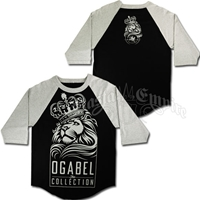 Lion and Crown Baseball T-Shirt - Men's