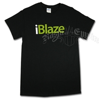 I Blaze Black T-Shirt - Men's