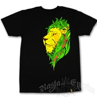 Unity Green Earth Lion Black T-Shirt - Men's