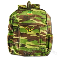 Rasta Camo Backpack
