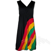 Rasta and Reggae Panel Dress
