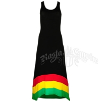 Rasta and Reggae Long Tank Top Dress