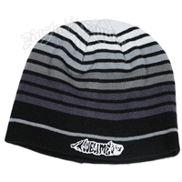 Sublime Grey Striped Beanie