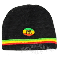 Rasta and Lion Reversible Beanie