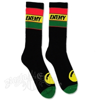 Rasta and Reggae Enemy Socks