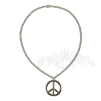 Peace Sign Chain Necklace