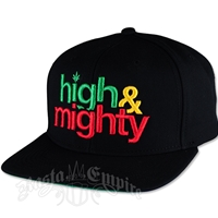 High and Mighty Black Cap - Men's