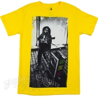 Bob Marley Limited Edition Speaker Yellow T-Shirt - Men's
