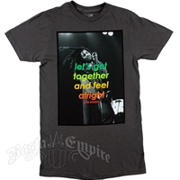 Bob Marley Limited Edition Feel Alright Charcoal Grey T-Shirt -  Men's