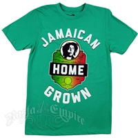 Bob Marley Limited Edition Jamaican Home Grown Green T-Shirt - Men's