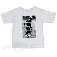 Bob Marley Soccer Toddler White T-shirt - Toddler's