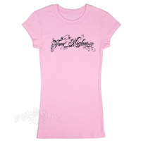 Your Highness Pink T-Shirt - Women's